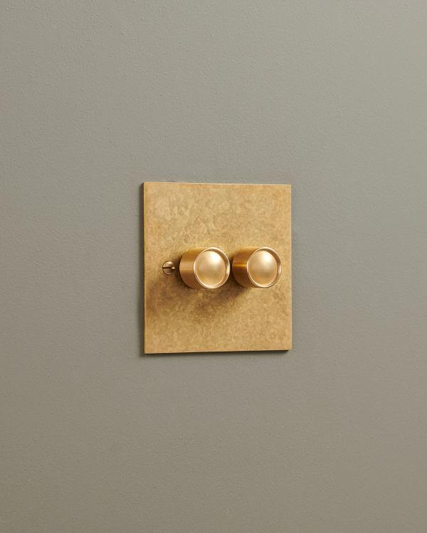 Aged Brass Classic Dimmer Switches