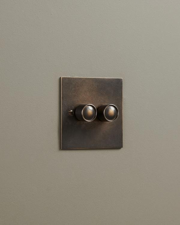 Oxidised Brass Classic Dimmer Switches