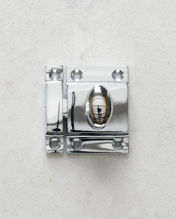 Chrome Cupboard Catch