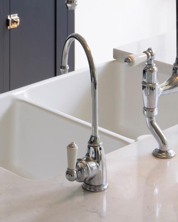 Perrin & Rowe 'Parthian' Mini Instant Hot Tap in Chrome