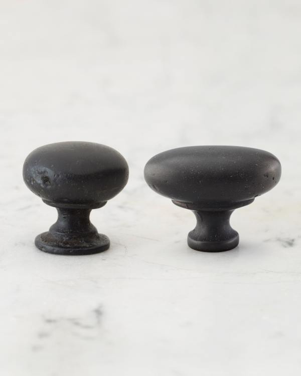 Matt Black Bronze Knobs