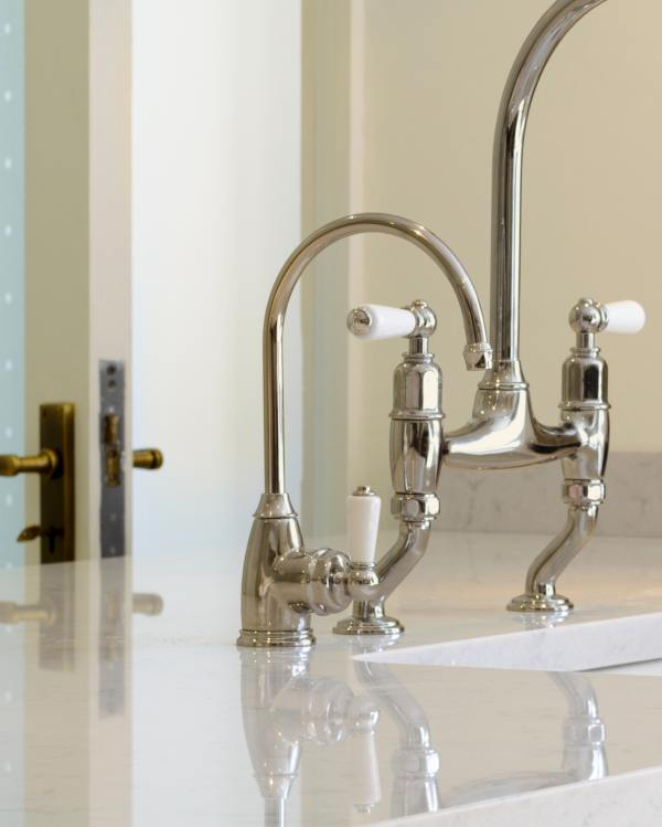 Perrin & Rowe 'Parthian' Mini Instant Hot Tap in Nickel
