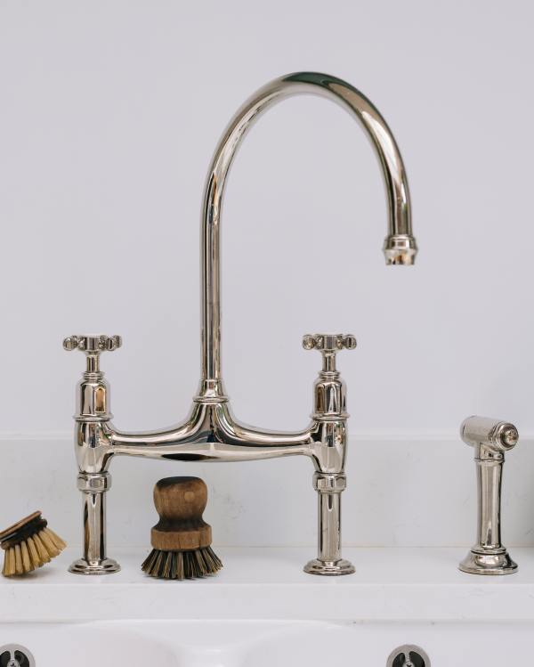 Perrin & Rowe Ionian Tap in Chrome