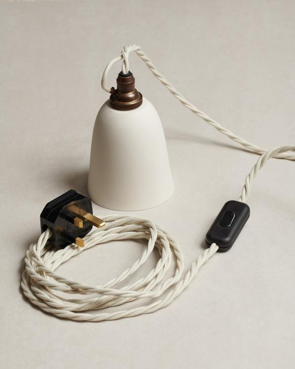 Plug-in Porcelain Beaker Lights
