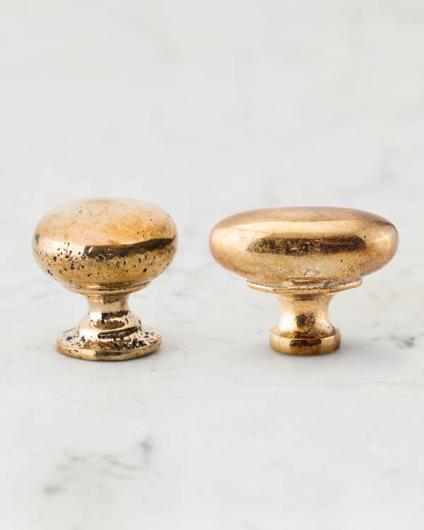 Polished Bronze Knobs
