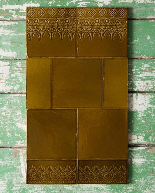 Sepia Lace Market Tiles