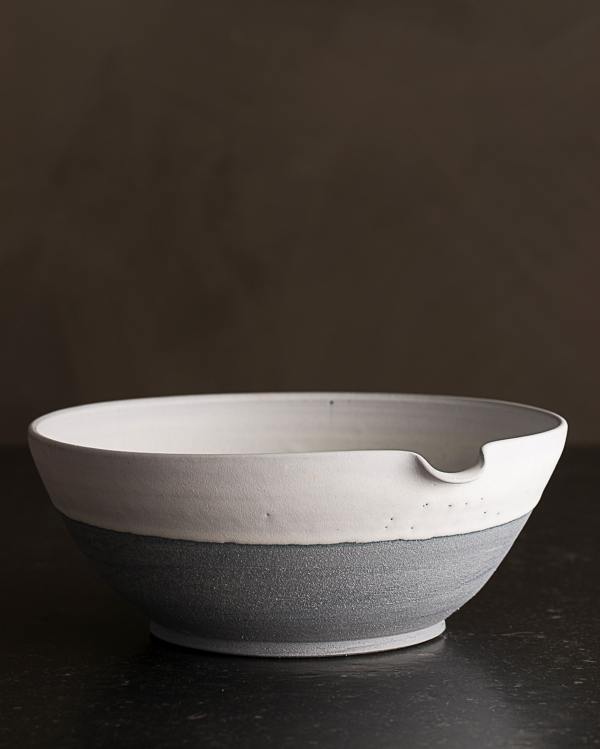 Large Slate Blue Pouring Bowl