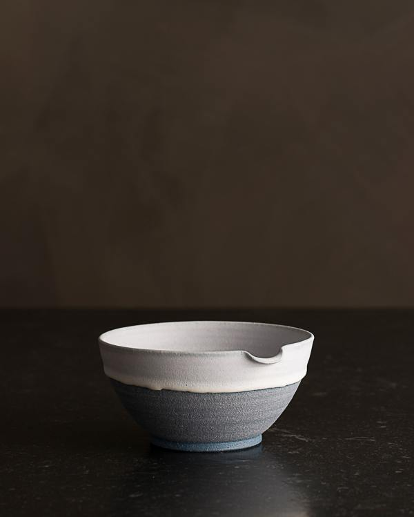 Small Slate Blue Pouring Bowl