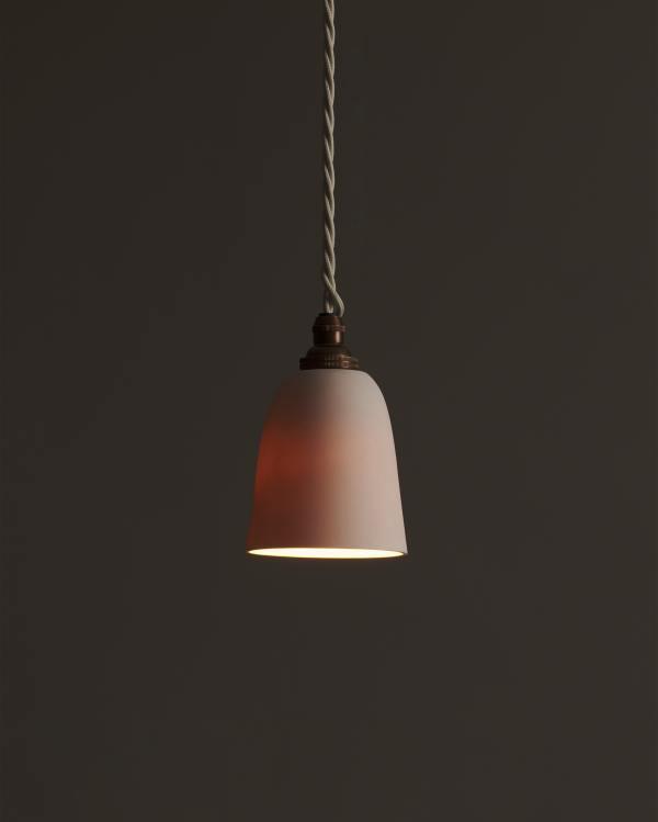 Small Plain Beaker Porcelain Light