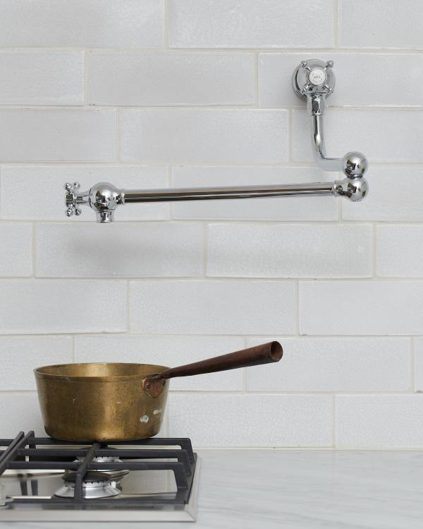 deVOL Chrome Pot Filler Tap