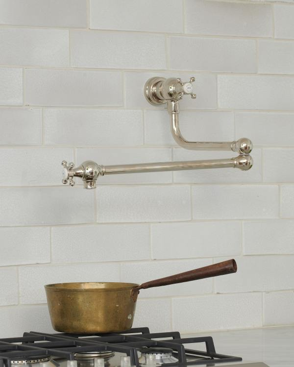 deVOL Nickel Pot Filler Tap