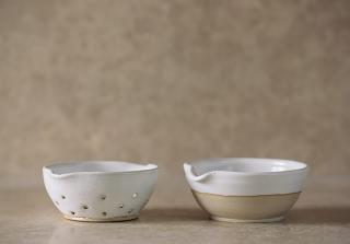 Set of Mini Colander & Pouring Bowl