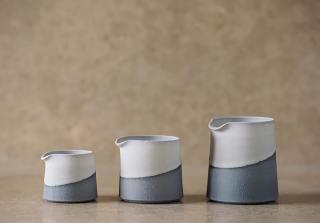 Set of 3 Blue Pourers