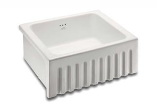600 Single Fluted Sink