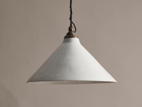 Large Crackle Pendant Light