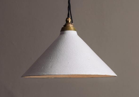 deVOL Crackle Pendant Light