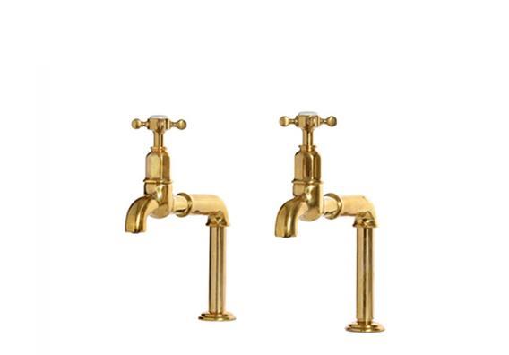 Fine Aged Brass Kitchen Taps Interior Design Ideas Clesiryabchikinfo