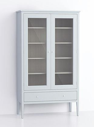 1000mm Glazed Upright Cupboard