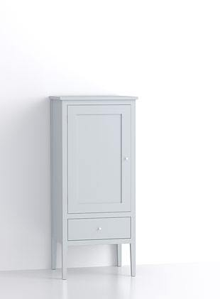 600mm Closed Short Upright Cupboard