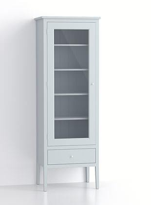 600mm Glazed Upright Cupboard